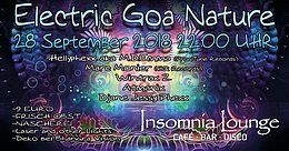 Party Flyer Electric Goa Nature 28 Sep '18, 22:00