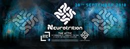 Party Flyer Neurotrition PsyTrance Torquay 28 Sep '18, 22:00