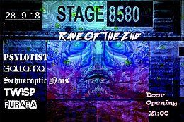 Party Flyer Rave of the End 28 Sep '18, 21:00