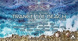 Party Flyer TRANCE THE BEACH#2 28 Sep '18, 21:00