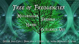 Party Flyer Tree of Frequencies 28 Sep '18, 23:00