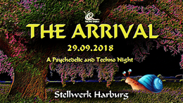 Party Flyer THE ARRIVAL 29 Sep '18, 23:00