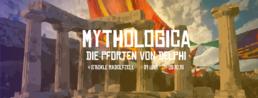 Party Flyer Mythologica - Die Pforten von Delphi //HRK 2 Oct '18, 21:00
