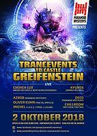 Party Flyer TRANCeVENTs to CASTLE GREIFENSTEIN 2 Oct '18, 21:00
