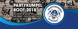 Party Flyer Partykumpel Boot 2018 :: Techno & Goa auf 3 Decks 3 Oct '18, 12:00