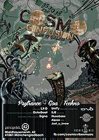 Party Flyer ѪCosmo ConfusionѪ Gate to Galaxy // Psytrance &' Techno 5 Oct '18, 23:00