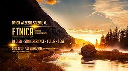 Party Flyer Orion Weekend Special with ETNICA 6 Oct '18, 23:00