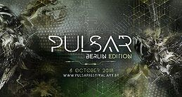 Party Flyer Pulsar Festival - Berlin Edition 6 Oct '18, 23:00