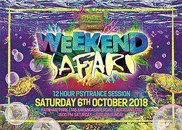 Party Flyer Weekend Safari 6 Oct '18, 20:00