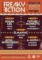 Party Flyer FREAKY FICTION 10 Oct '18, 23:00