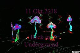 Party Flyer Back in Underground 11 Oct '18, 21:00