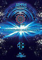 Party Flyer Locosmic Harmony 12 Oct '18, 22:00