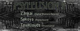 Party Flyer Psyllusion II 12 Oct '18, 23:00
