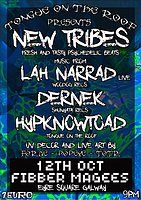 Party Flyer Tongue on the roof present New tribes 12 Oct '18, 21:00