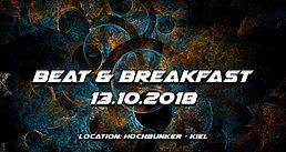 Party Flyer Beat & Breakfast 2018 13 Oct '18, 23:00