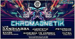 Party Flyer Chromagnetika Vol.2 13 Oct '18, 23:30