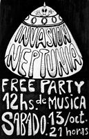 Party Flyer Invasion Neptunia 13 Oct '18, 21:00