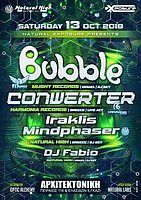 Party Flyer Natural Exposure presents Bubble & Conwerter in Athens !!! 13 Oct '18, 23:30