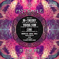 Party Flyer PsyTemple Global Sound 004 13 Oct '18, 22:00