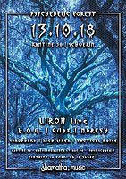 Party Flyer Shamatha • Psychedelic Forest 13 Oct '18, 22:00
