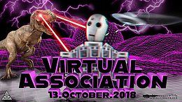 Party Flyer Virtual Association 13 Oct '18, 23:00