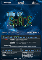 Party Flyer OUT of SPACE - lebeliebelache special 18 Oct '18, 22:00