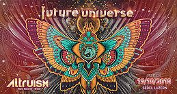 Party Flyer 5 Years Future Universe w/ Thatha / Altruism 19 Oct '18, 22:00