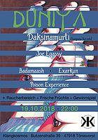 Party Flyer Duniya 19 Oct '18, 22:00