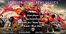 Party Flyer Station Of Psychedelics 19 Oct '18, 23:00