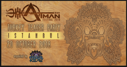 Party Flyer Atman Festival Promo Istanbul 20 Oct '18, 21:00