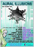 Party Flyer Aural Illusions Feat. Positive thought 20 Oct '18, 20:00
