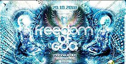 Party Flyer Fredoom of Goa 20 Oct '18, 22:00