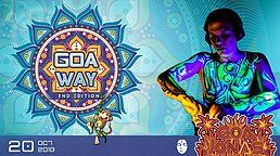 Party Flyer Goa Way Opening 20 Oct '18, 23:00