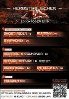 Party Flyer Herbstrauschen 20 Oct '18, 22:00