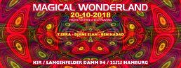 Party Flyer ॐ Magical Wonderland ॐ 20 Oct '18, 22:00