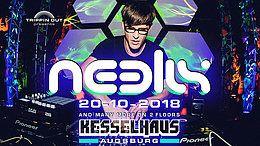 Party Flyer Neelix Live - 2 Floors 20 Oct '18, 22:00