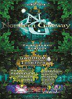 Party Flyer Northern Gateway - Gaudium & Chrizzlix LIVE + extra Darkfloor 20 Oct '18, 23:00