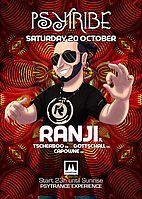 Party Flyer Psy Tribe mit Ranji 20 Oct '18, 23:00