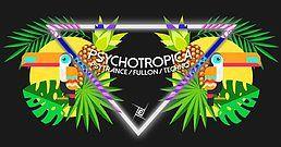 Party Flyer Psychotropica Prog/Psytrance & Techno / 5€ bis 0Uhr 20 Oct '18, 23:00