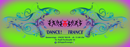 Party Flyer DANCE to TRANCE 25 Oct '18, 21:00