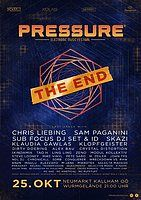 Party Flyer PRESSURE FESTIVAL - THE END 2018 25 Oct '18, 21:00