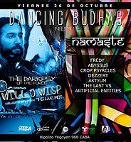Party Flyer Dancing Budhas (2 Dancefloors - Dark & Psytrance) 26 Oct '18, 23:30