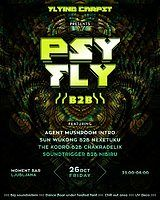 Party Flyer PSY FLY :: B2B 26 Oct '18, 23:00