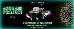 Party Flyer Psychedelic Unicorn 26 Oct '18, 23:30