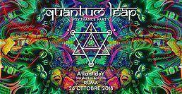 Party Flyer QuAnTuM LeAp ☆ Underground Psytrance Party 26 Oct '18, 23:30