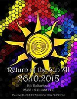 Party Flyer RETURN OF THE SUN XII - a Psychedelic Sound Gathering - 26 Oct '18, 23:00