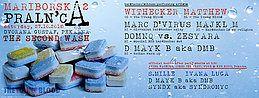 Party Flyer Mariborska praln'ca - Second wash 27 Oct '18, 22:00