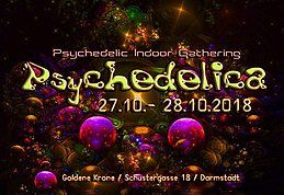 Party Flyer Psychedelica 2018 27 Oct '18, 22:00
