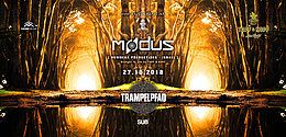 Party Flyer ☆Trampelpfad☆ mit Modus (Hommega) ISR 27 Oct '18, 23:00