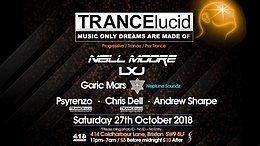 Party Flyer TRANCElucid 27 Oct '18, 23:00